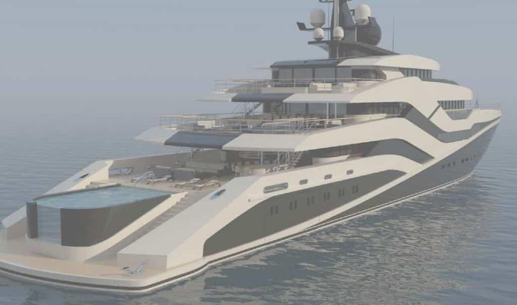 Eivissa II, il 76 metri da Nao Yacht con eliporto a scomparsa e piscina