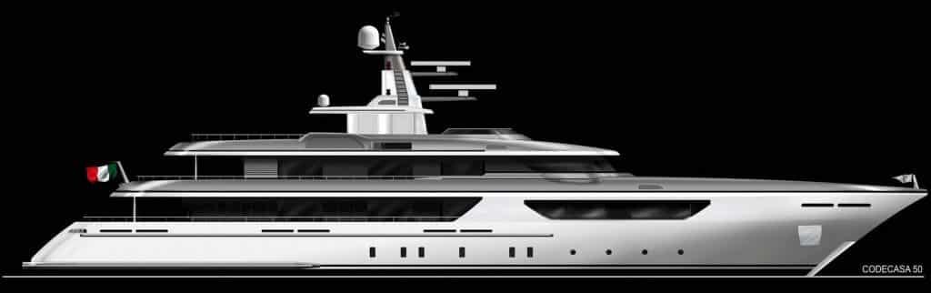 Ecco i nuovi yacht Codecasa 50 e 65 all'insegna dell'eleganza