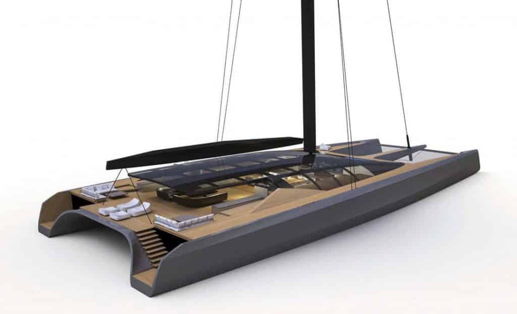 Black Cat: un nuovo catamarano da crociera mitch booth