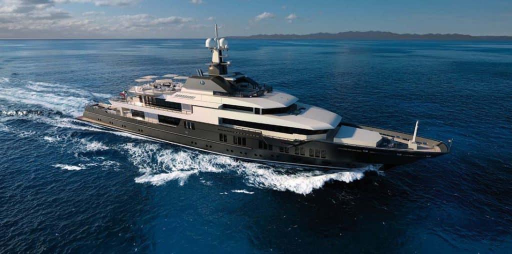 VSY presenta il nuovo 83 metri Explorer style