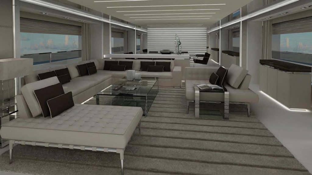 Ecco Corsaro 100', il nuovo flybridge Riva