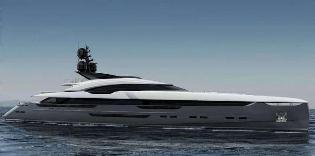Rossinavi presenta Vector yacht
