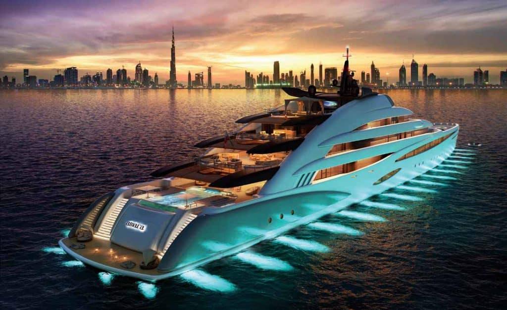 Oceanco presenta Amara: lo yacht che sembra un resort