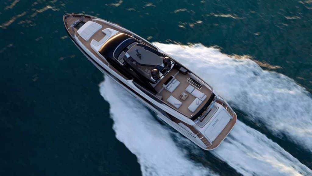 riva 110' yacht progetto