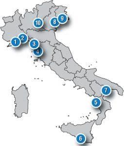 I 10 migliori marina italiani: servizi e posti barca
