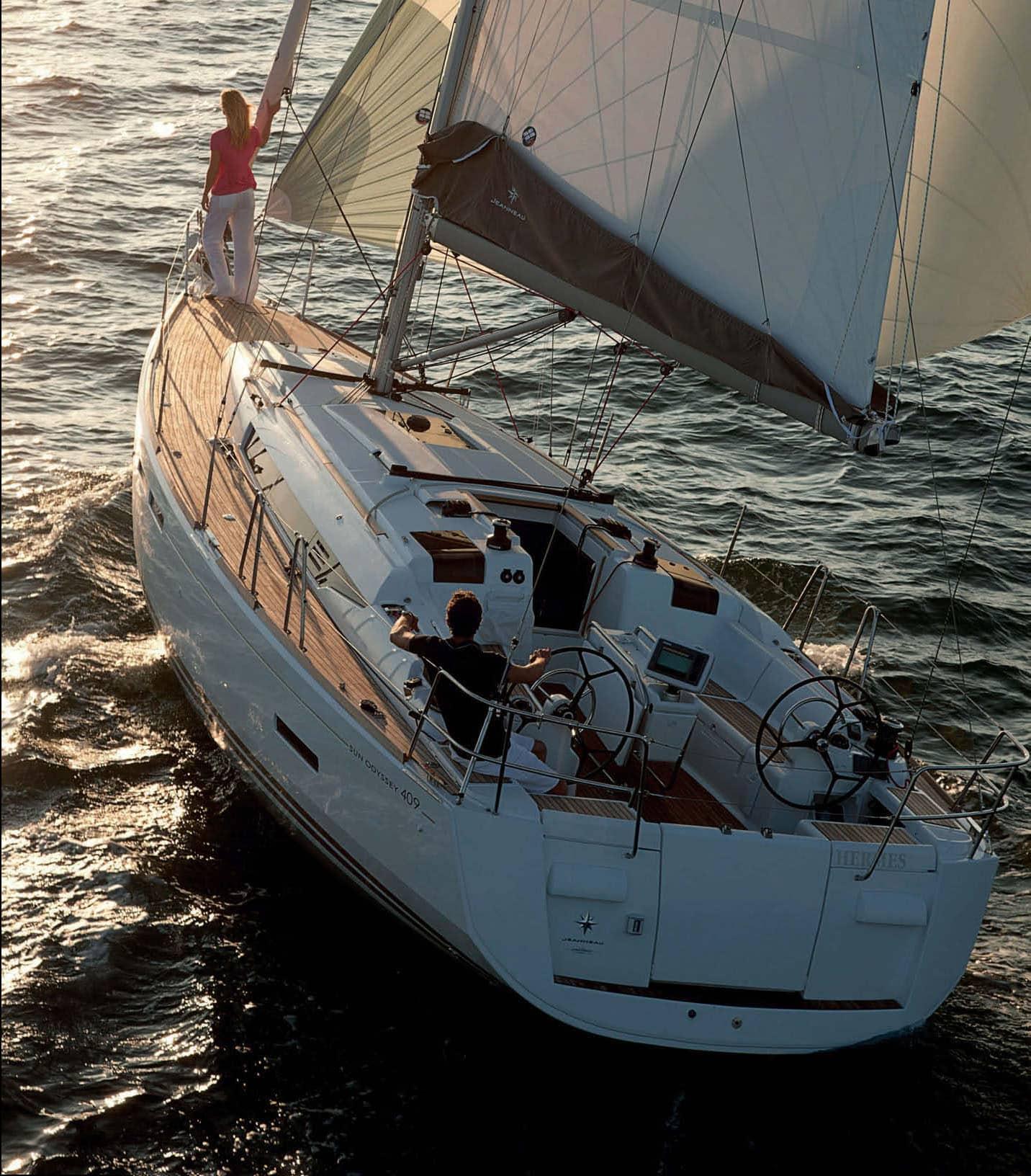 Sun Odyssey 409: il family cruiser che dice addio alla tradizione