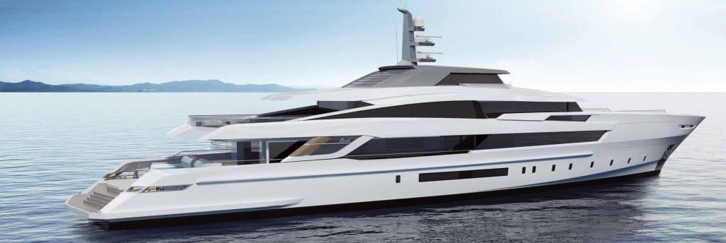 benetti fast yacht