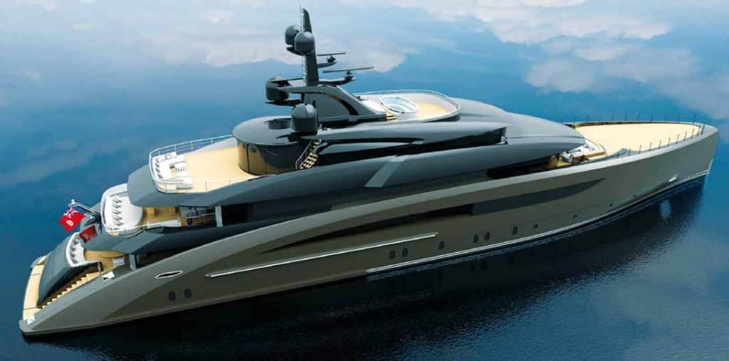 Il nuovo yacht 62 metri firmato CRN e Nuvolari Lenard