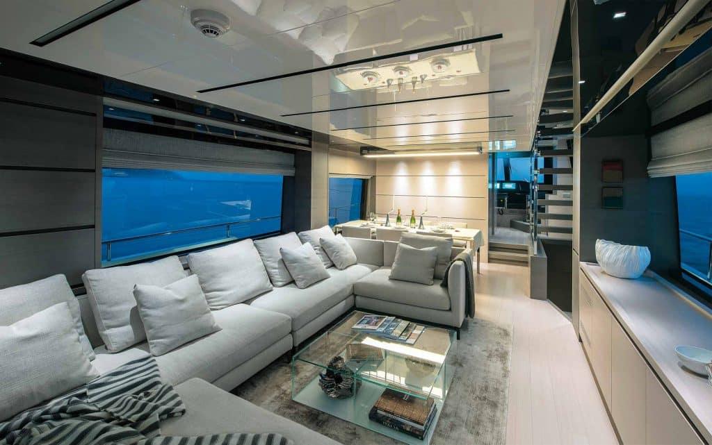 Sanlorenzo SL 78 design yacht foto, l'era Perotti continua all'insegna della luce