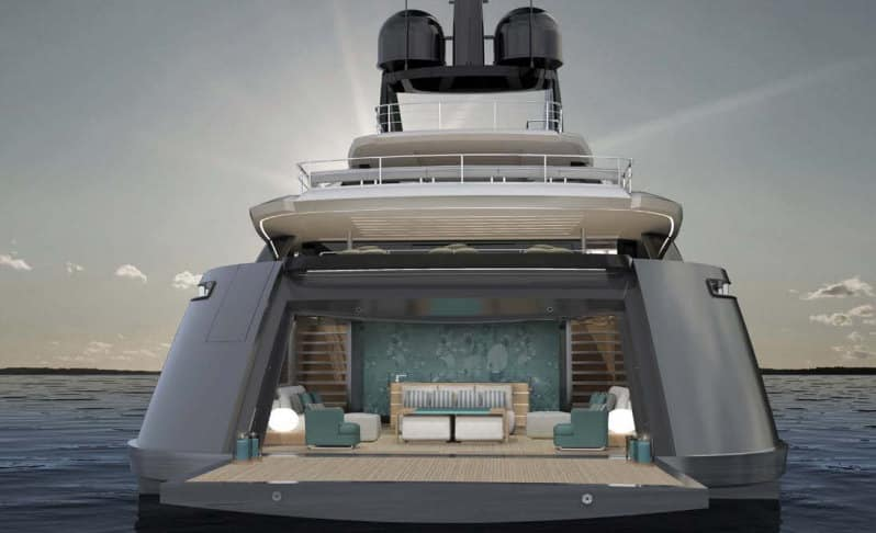 Vector: il 62 metri di Rossinavi che combina speedboat e comfort