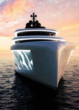 Moonstone, il megayacht Oceanco dalle mille luci. Per giocare con l'acqua