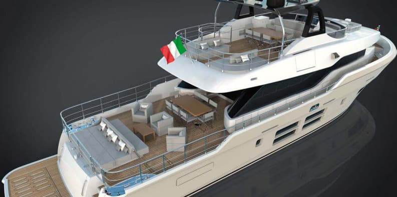 Oceanic 76'GT: un 23 metri è il nuovo explorer entry level di Canados