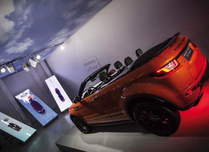 Il Range Rover convertibile di Odo Fioravanti, tra surf e freeride