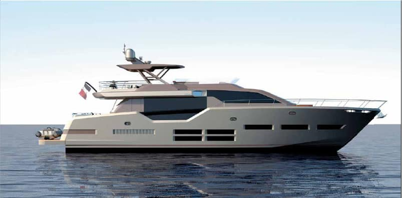 Couach ed Espen Øino insieme per timeless collection yacht