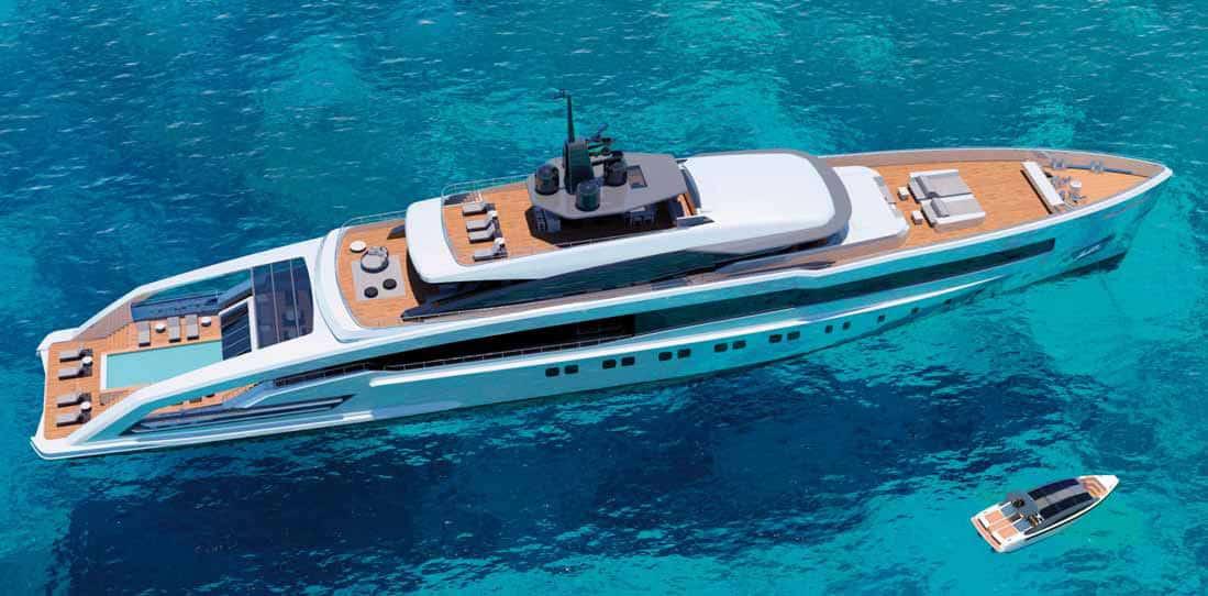 Oceansport 75 crn yacht