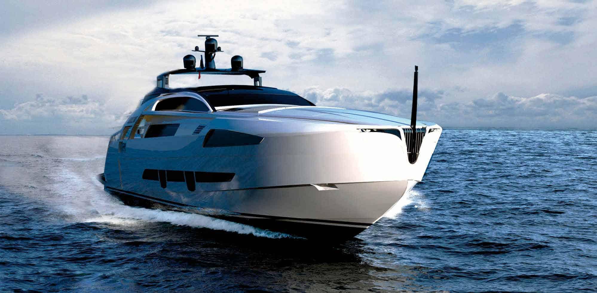 Pershing 140: ecco le immagini del nuovo yacht firmato De Simoni