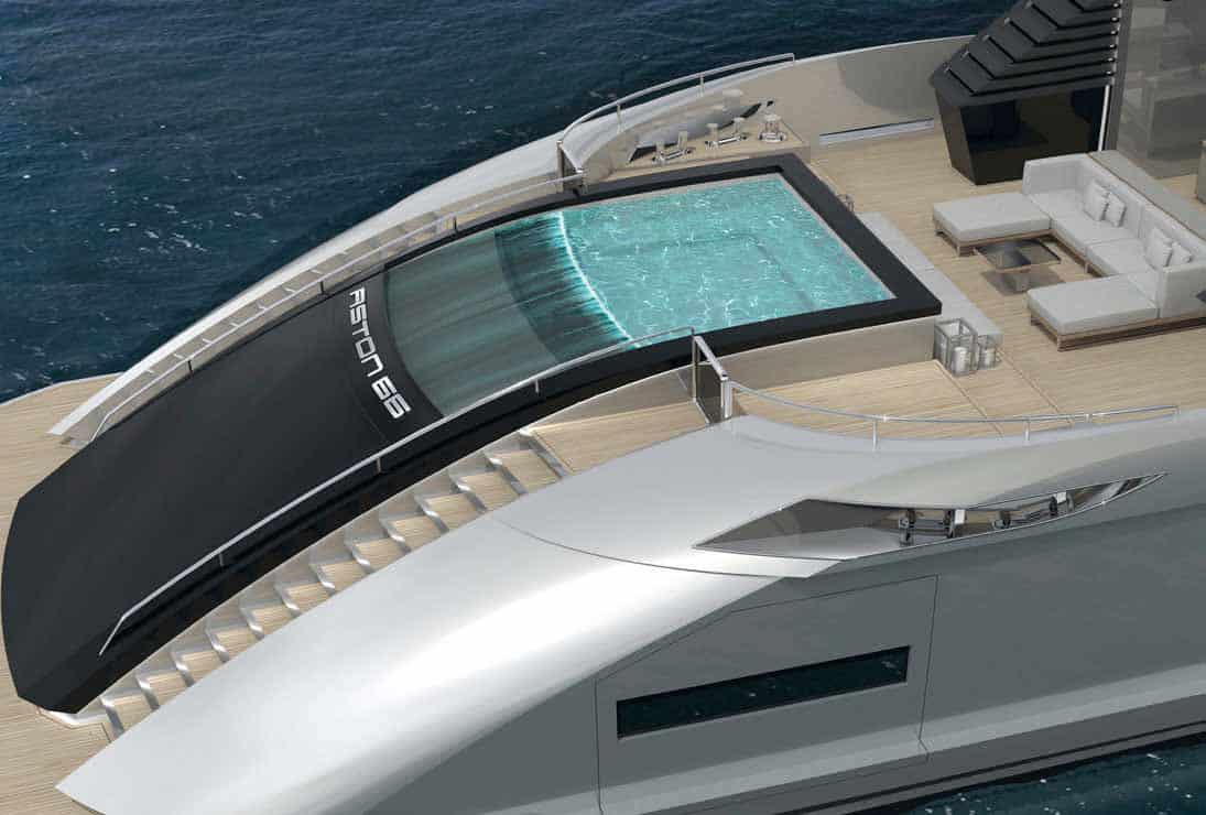 Aston 66M: ecco la coupé del mare, disegnata da Enrico Gobbi