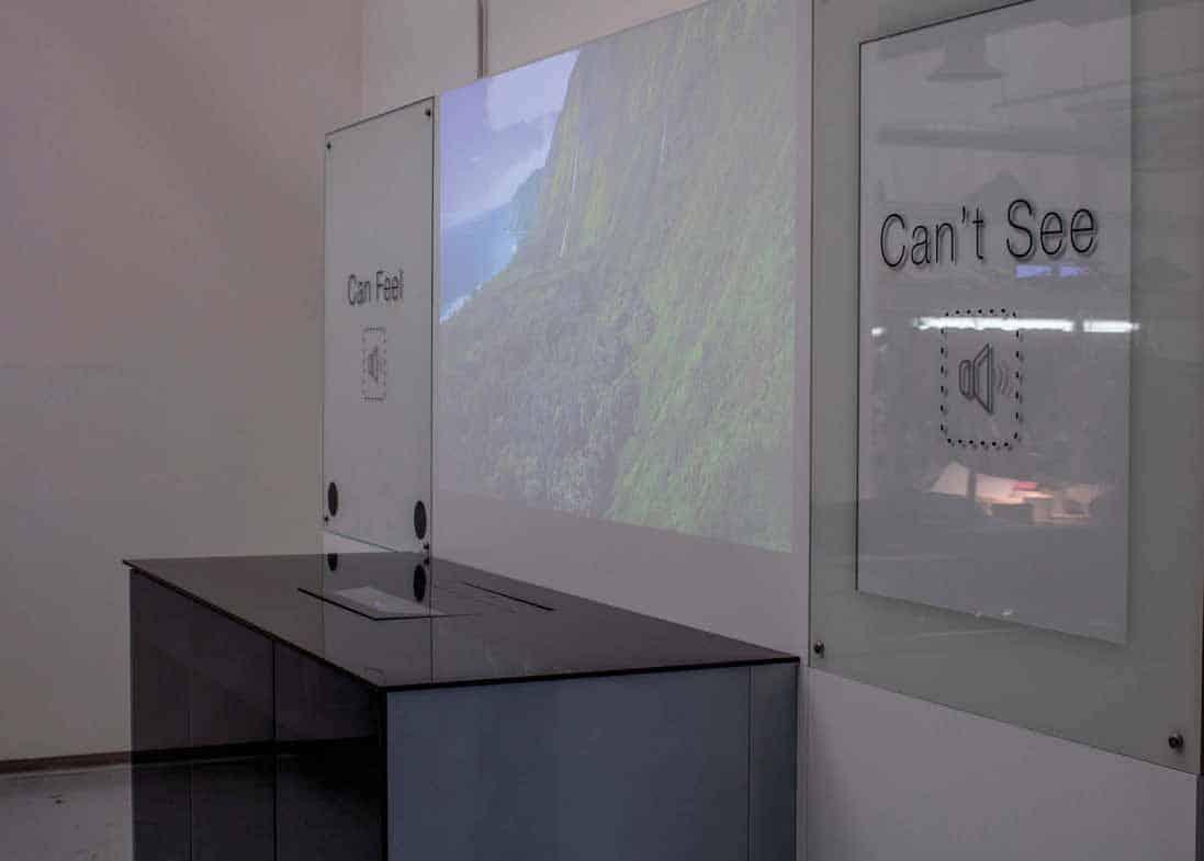 Con Videoworks, le pareti emanano immagini, suoni, profumi