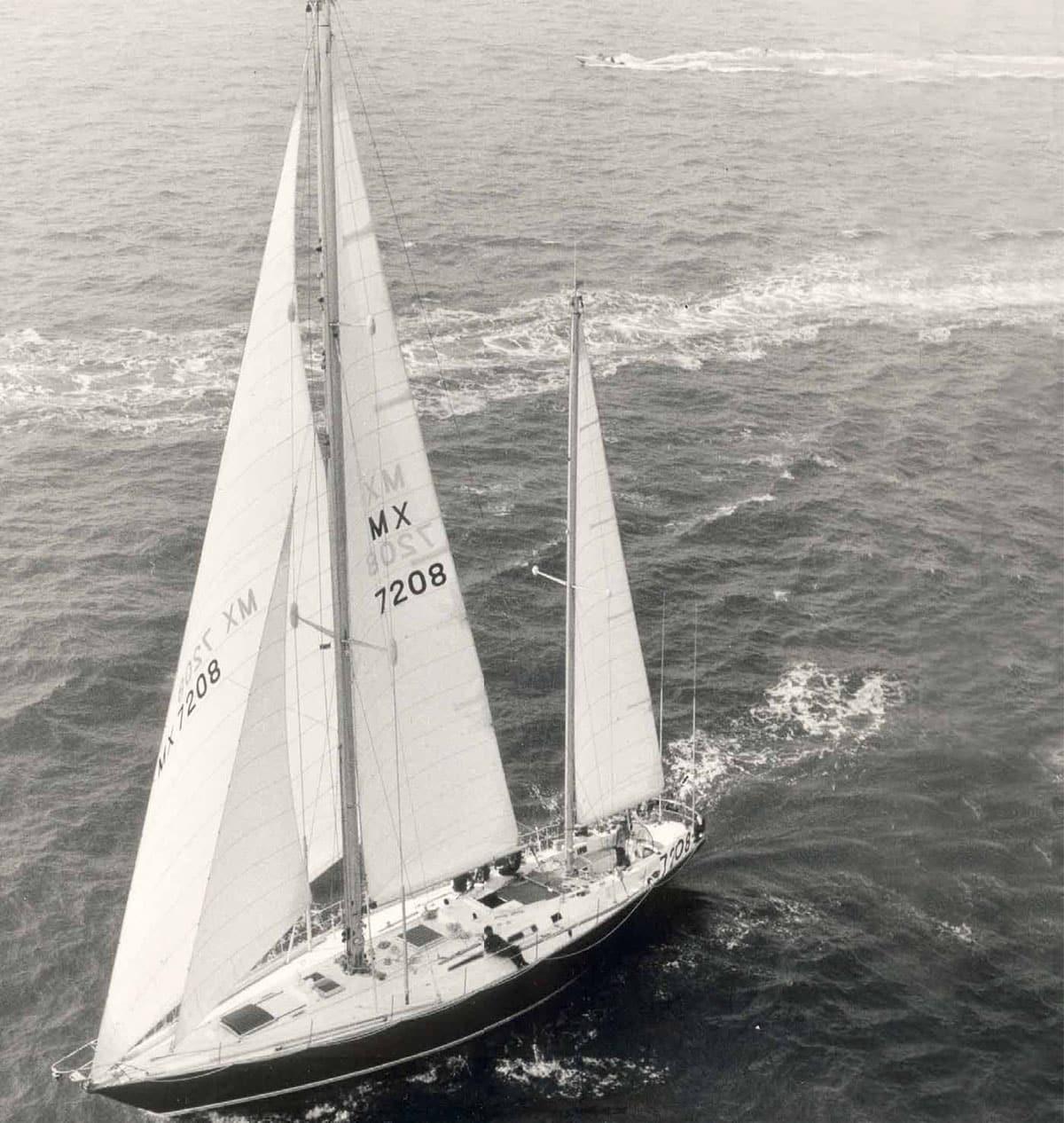 La regata per le barche del Whitbread, il giro del mondo anni Settanta