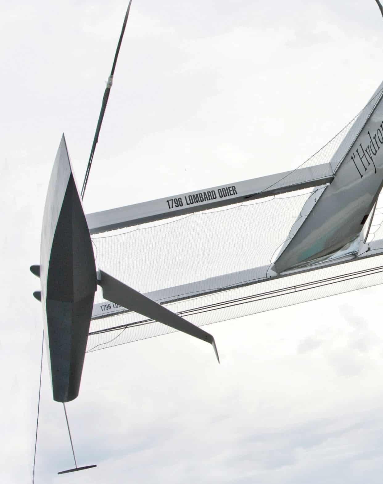 Hydroptère si lancia alla conquista del giro del mondo record