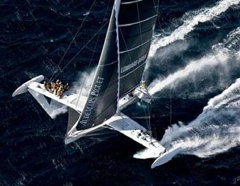Hydroptère punta ai record: alla conquista del giro del mondo