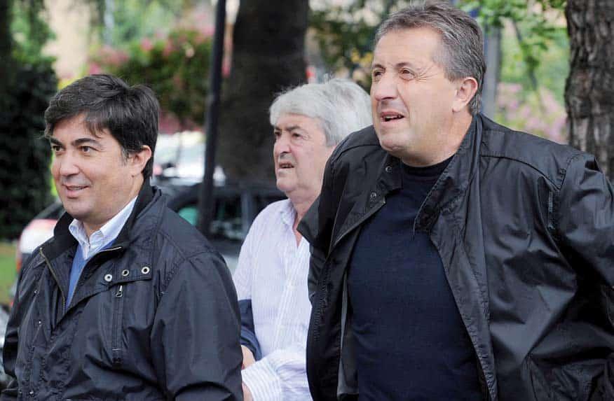 Alberto ed Imerio Lucchini con Michele Dancelli