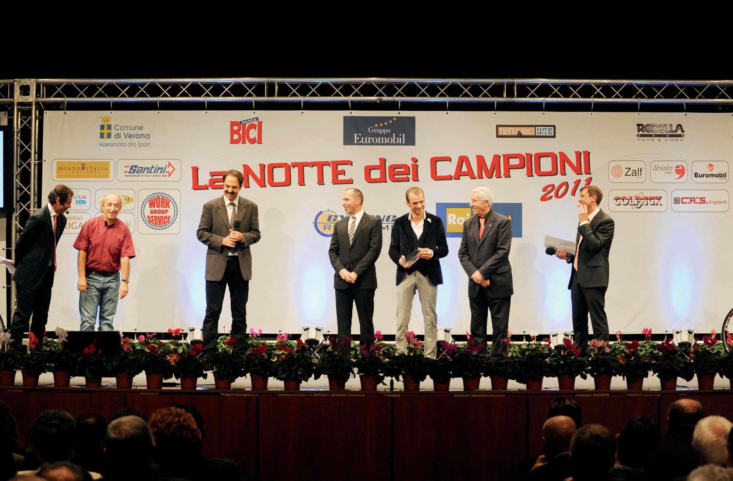 Oscar tuttoBICI, premi a Cipollini, Scarponi e Marcorè