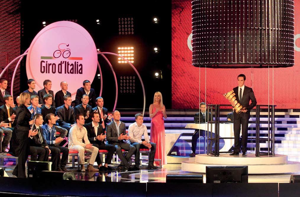 giro d'italia 2012 tappe programma