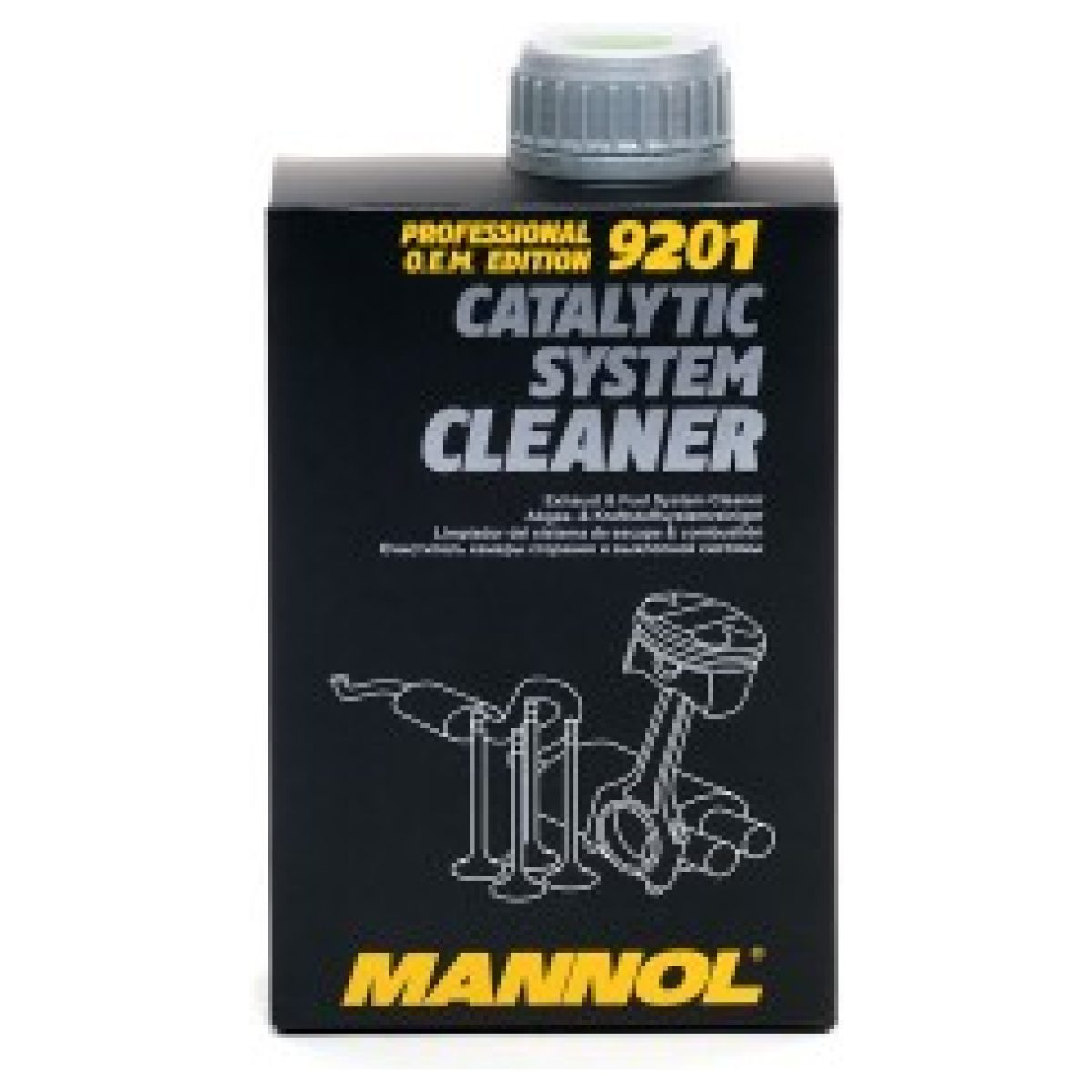Catalytic system cleaner