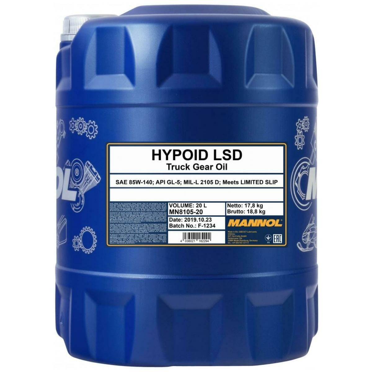 HYPOID LSD 85W-140