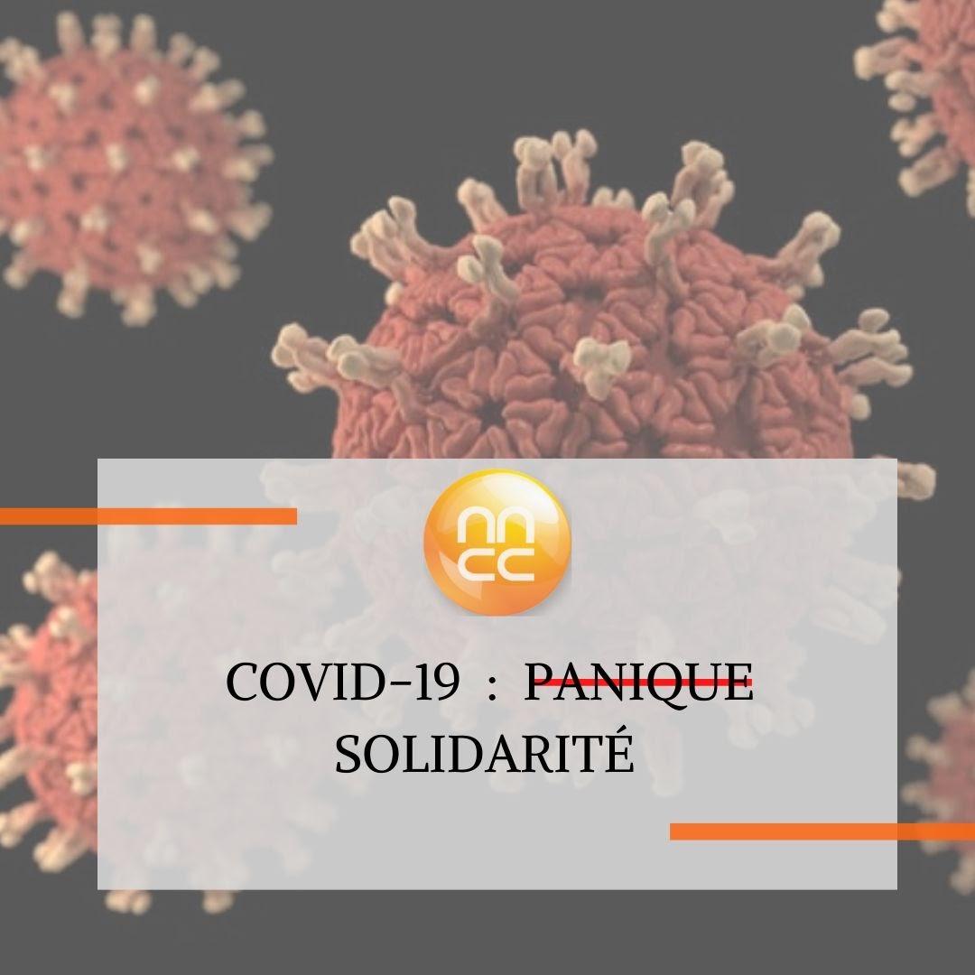 Illustration: COVID-19 Solidarité au lieu de panique