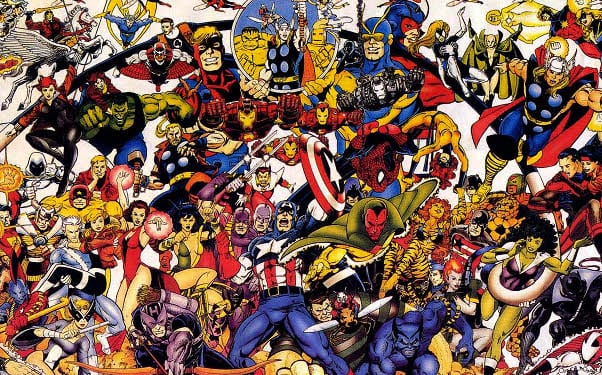 marvel comics avengers x-men grand design