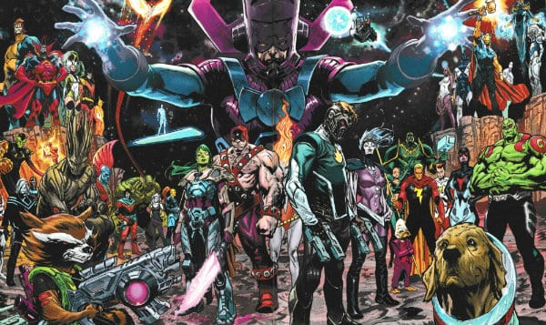 cosmic marvel comics guardians of the galaxy x-men grand design