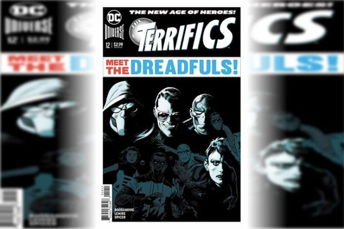 DC Comics Exclusive Preview THE TERRIFICS #12