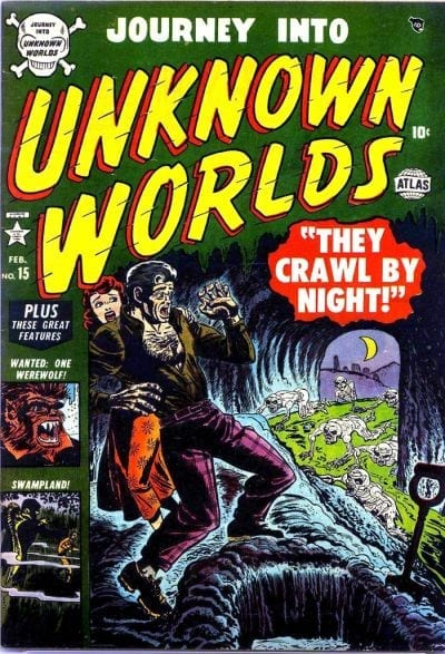 marvel journey into unknown worlds