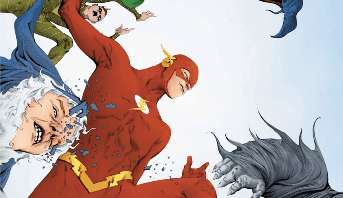 Review: Barry Teams Up With the Sage Force Avatar in THE FLASH #62 1