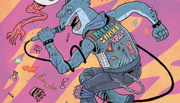 Scout Comics Announces New 2019 Series in METALSHARK BRO! 1