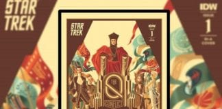 Star Trek: The Q Conflict alternative cover