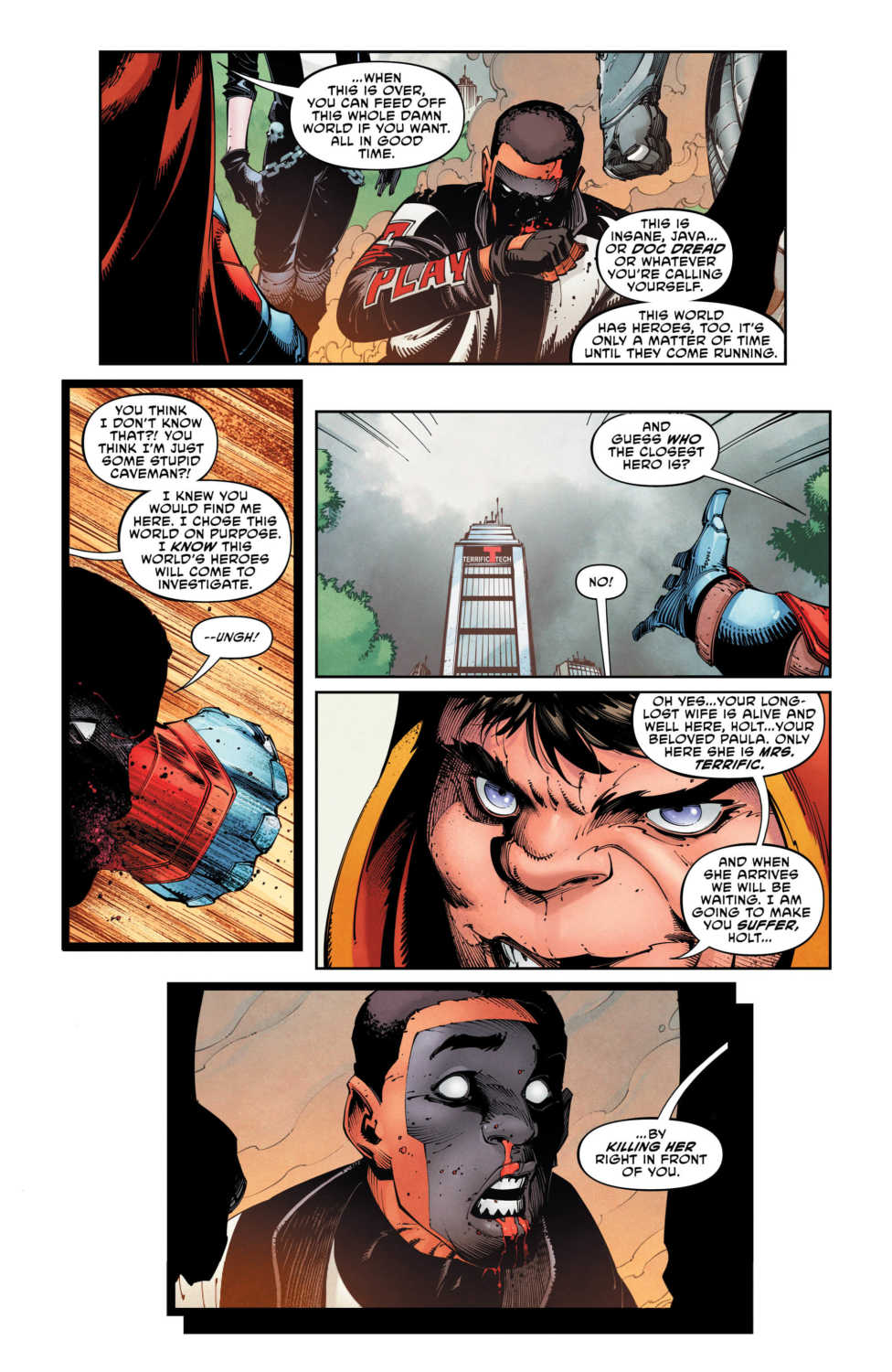 DC Comics Exclusive Preview THE TERRIFICS #12