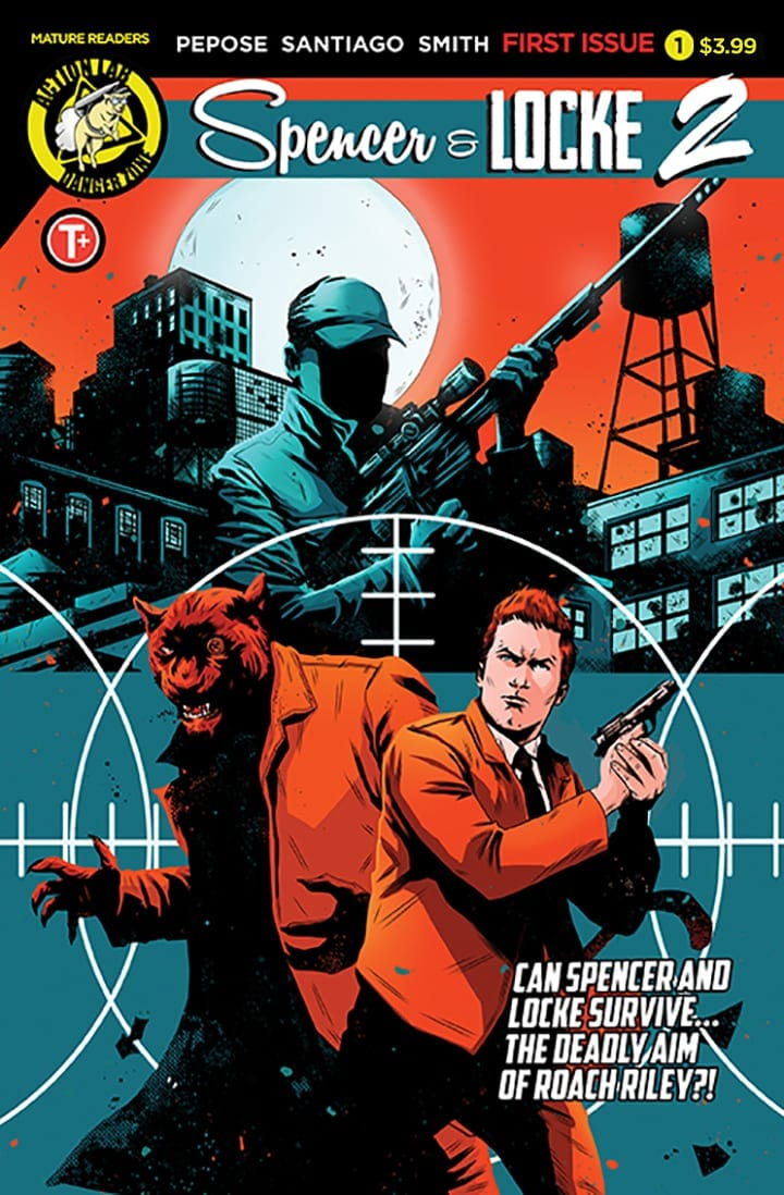 spencer & locke 2 comics david pepose jorge santiago