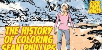 A History of Colors on Sean Phillips | Strip Panel Naked