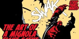 The Art of a Mignola Fight Scene | Hellboy | Strip Panel Naked