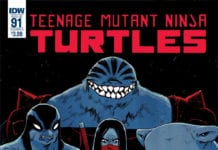TMNT #91 cover
