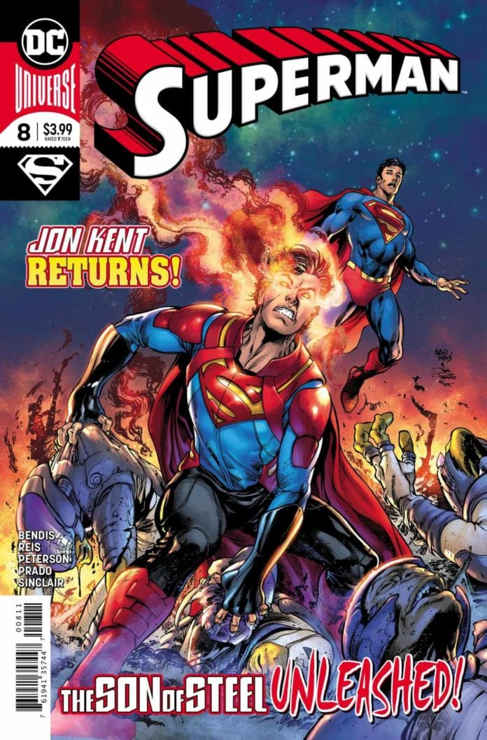 Superman #8 cover