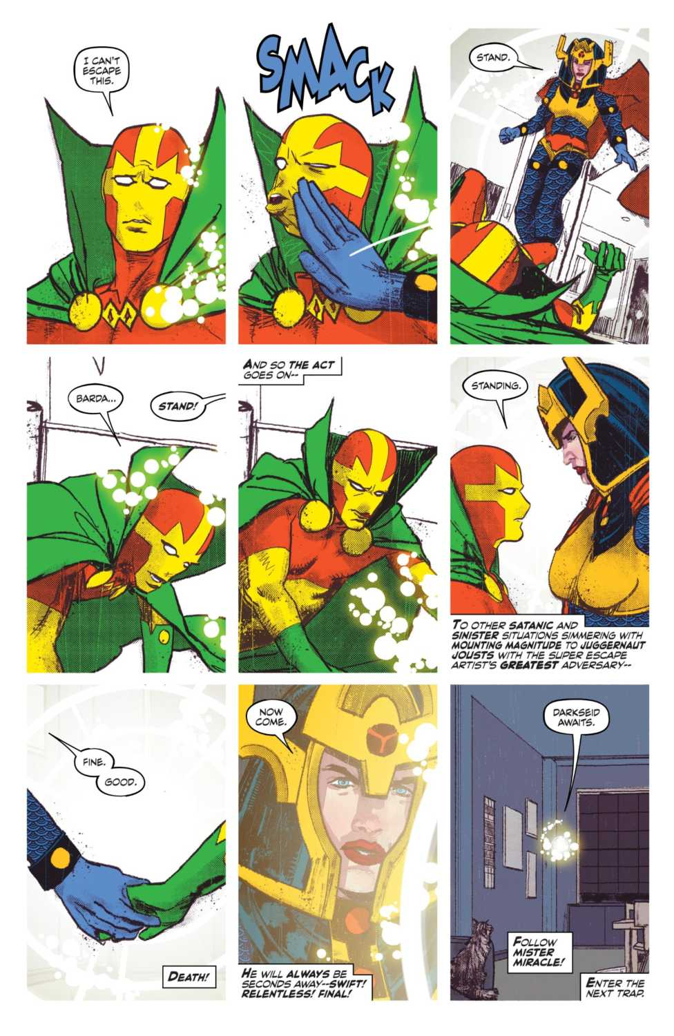 mister miracle big barda dc comics tom king mitch gerads