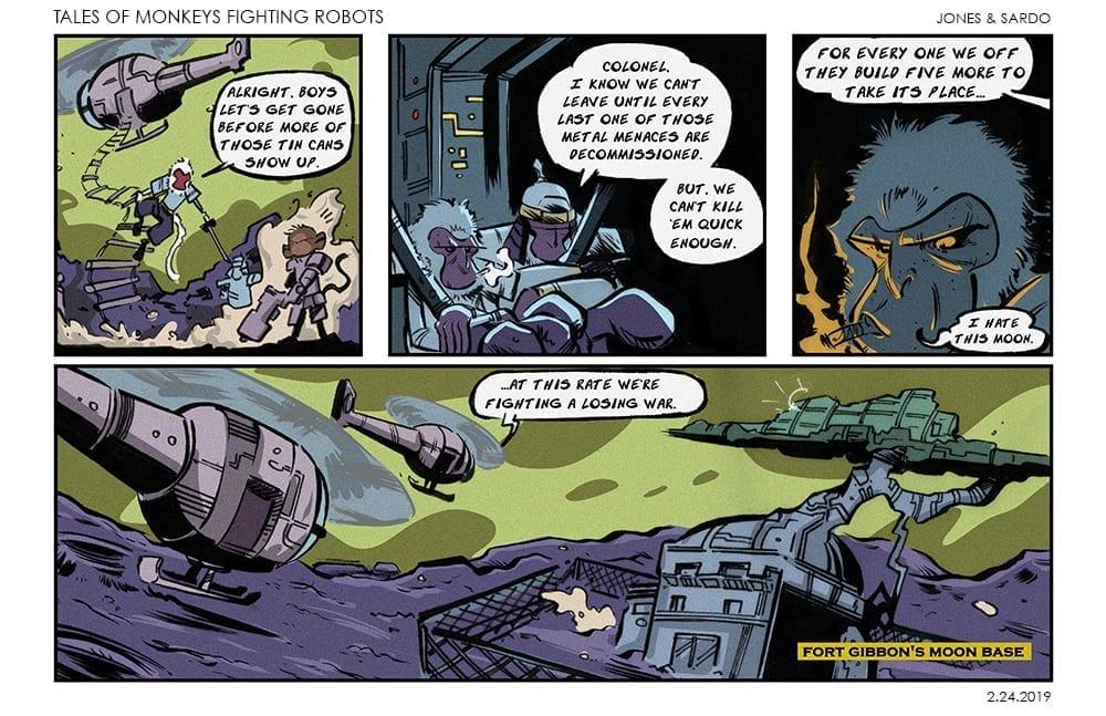 Tales of MFR #4 web comic