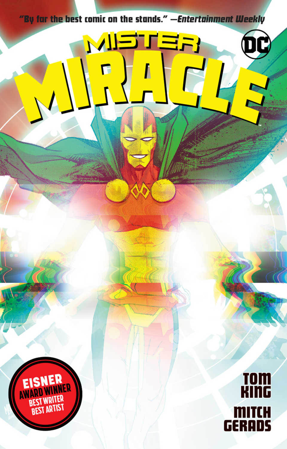 mister miracle trade cover dc comics