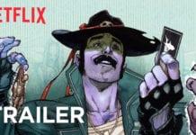 SHARKEY THE BOUNTY HUNTER | Comic Book Trailer | Netflix