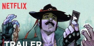 SHARKEY THE BOUNTY HUNTER | Comic Book Trailer | Netflix