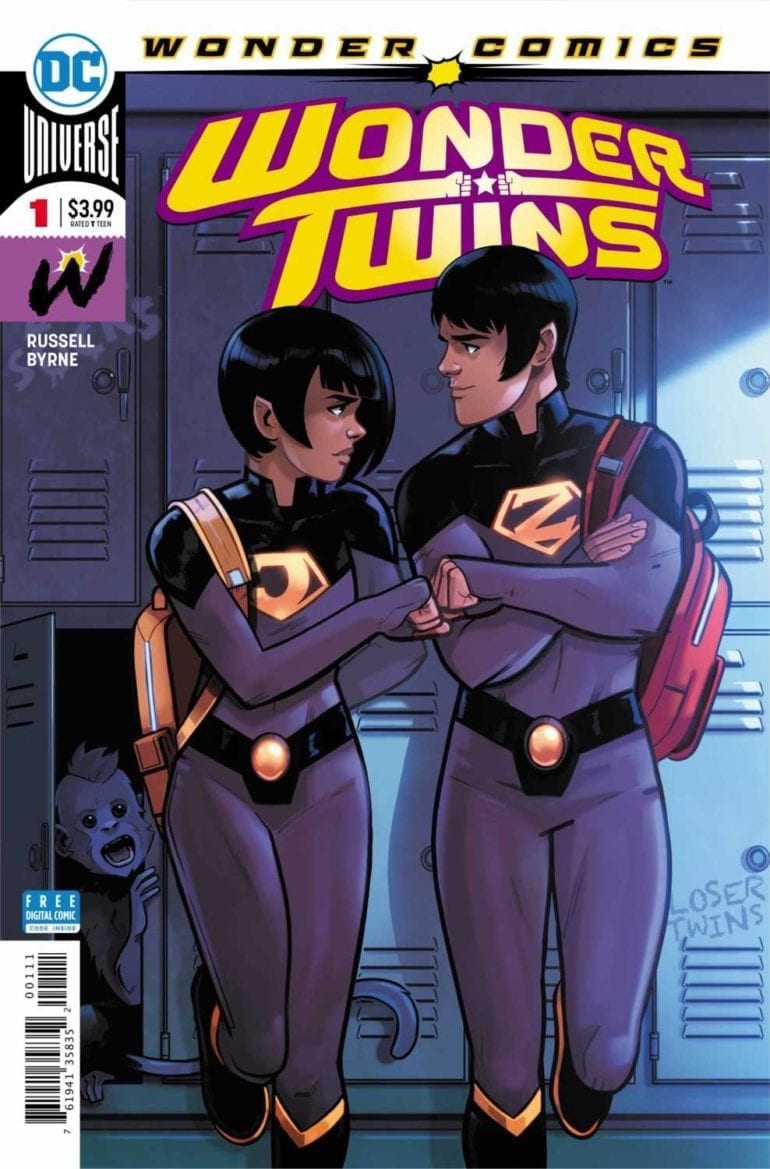 Wonder Twins #1 cover
